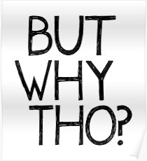 But Why Tho? Poster