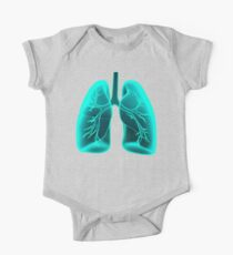 X-ray Vision Lungs One Piece - Short Sleeve