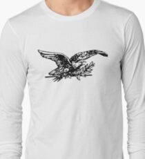 Bird Drawing Long Sleeve T-Shirt