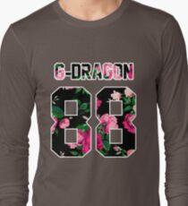 G-Dragon - Colorful Flowers Long Sleeve T-Shirt