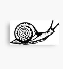 Snail Drawing Canvas Print