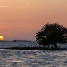 Sunset at the kite beach by Viktoryia Vinnikava