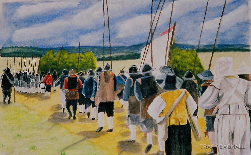 Marching to war by TRACY BAGNALL