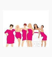 Bridesmaids  Photographic Print
