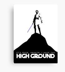High Ground Prequel Memes Canvas Print