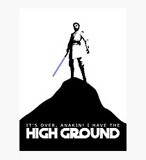 High Ground Prequel Memes Photographic Print