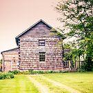 1832 Cabin by Pauline Evans