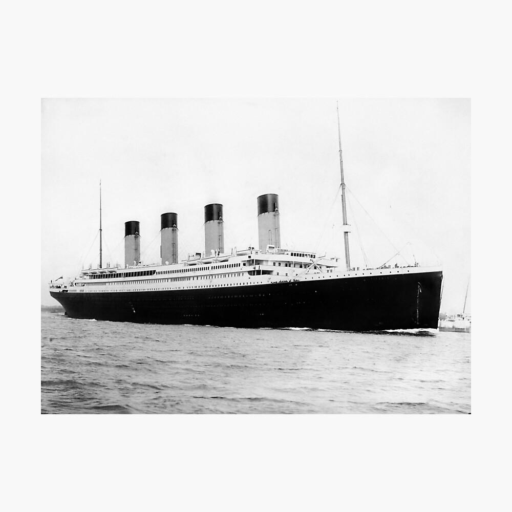 RMS Titanic Lámina fotográfica