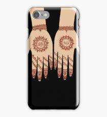 Daffa Hoja Wedding Henna  - Desi Pop Art iPhone Case/Skin