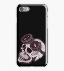 SKULL GOGGLES iPhone Case/Skin