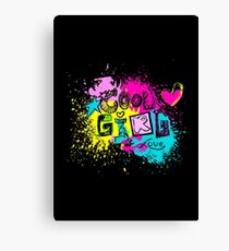 Cool Girl Love Canvas Print