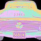 Neon Classic Car by Mark Malinowski