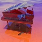 Harpsicord Player (The Glass Cat) by Nancy Stafford