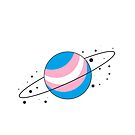 Trans Pride Planet by SavaMari