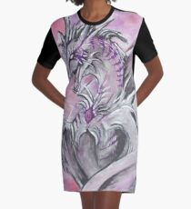 Arcane Dragon Graphic T-Shirt Dress
