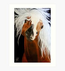 Neigh-belline Art Print