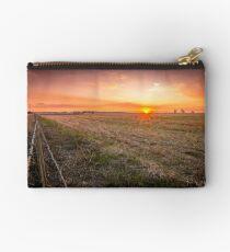 Farming sunset Studio Pouch