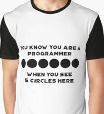 programming perks :D Graphic T-Shirt