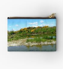 Trickling Down! - Still Pools - Oriti River Soutland Studio Pouch