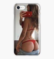 Alexis Ren (Model, Topless, Sexy, Hot, Nude, Boobs, Ass) iPhone Case/Skin