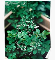 Green Totoro Poster