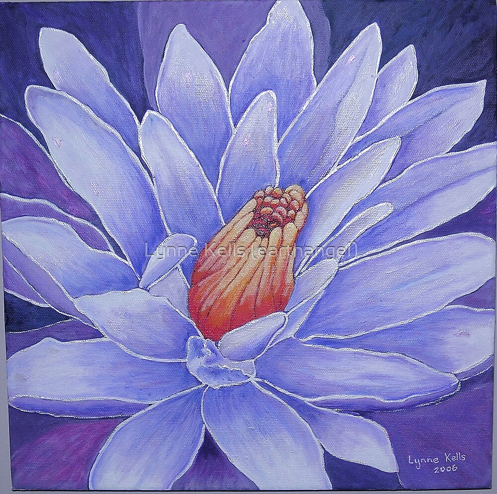 Waterlily by Lynne Kells (earthangel)