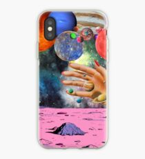 Psychedelic space. iPhone Case