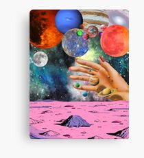 Psychedelic space. Canvas Print