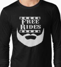 Free Rides Beard T-Shirt