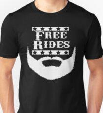 Free Rides Beard Unisex T-Shirt