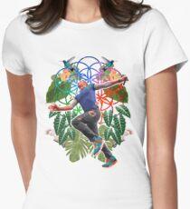 Drunk & High Womens Fitted T-Shirt