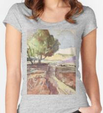 Winter in Tarlton Women's Fitted Scoop T-Shirt