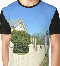 Streetscape - Smalltown Australia Graphic T-Shirt
