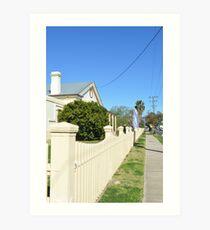 Streetscape - Smalltown Australia Art Print