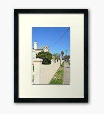 Streetscape - Smalltown Australia Framed Print