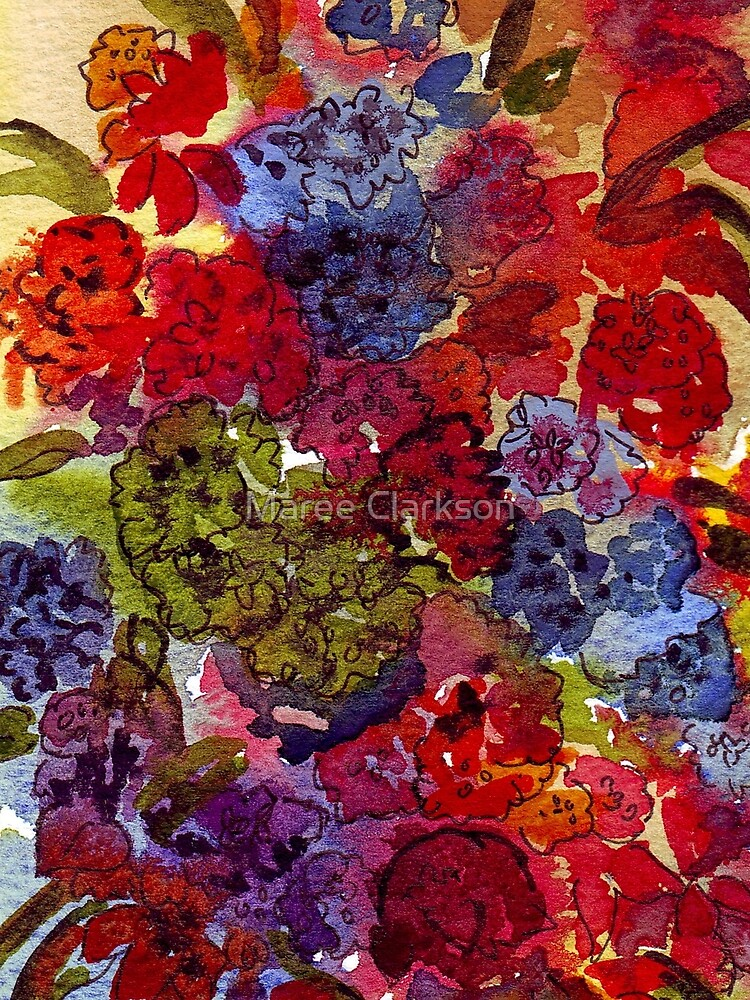 Elaborate blossoms, in every hue by MareeClarkson