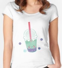 Treat Days! Bubble Boba Women's Fitted Scoop T-Shirt