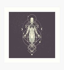 Sacred Geometry (Divine Feminine) Art Print