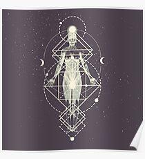Sacred Geometry (Divine Feminine) Poster