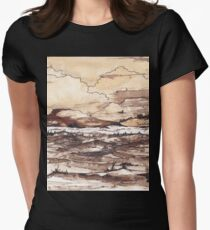 Winter in the Karoo Womens Fitted T-Shirt