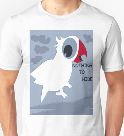 Nothing To Hide! - Bird T-Shirt - NZ T-Shirt