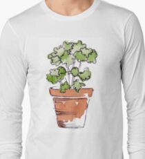 Herbs in pots - Parsley  Long Sleeve T-Shirt