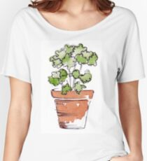 Herbs in pots - Parsley  Women's Relaxed Fit T-Shirt