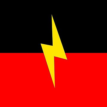 Aboriginal Deadly Flag by ArchieMoore