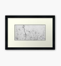 HDR Composite - Coffee Texture on Plastic 3 Framed Print