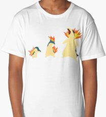 Cyndaquil Evolution Long T-Shirt