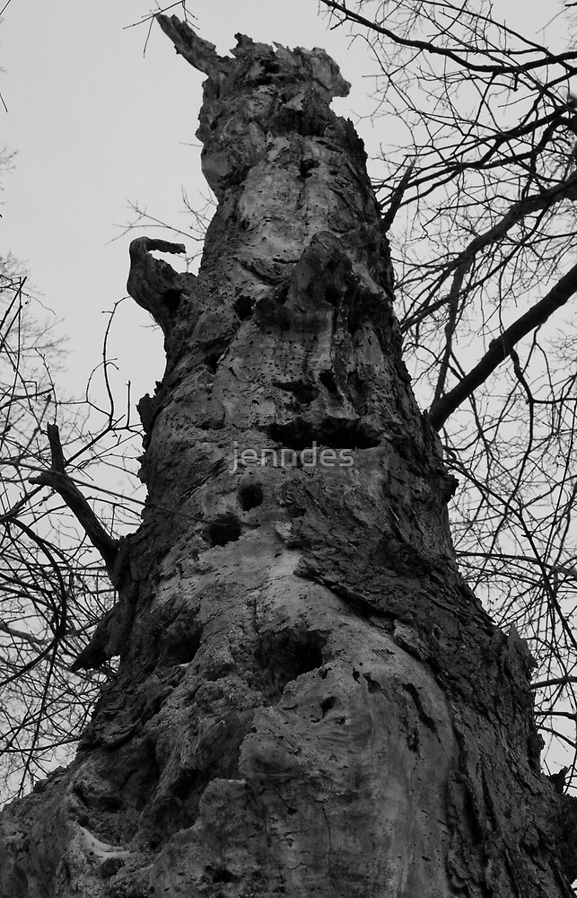 Woodpecker Tree by jenndes
