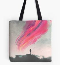 Where Fear Ends Tote Bag