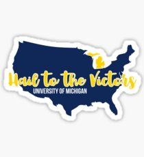 University of Michigan - Style 30 Sticker