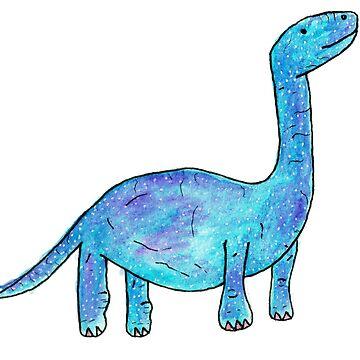 Lone Dinosaur by iamkart